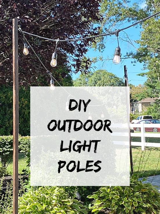 outdoor light pole pin