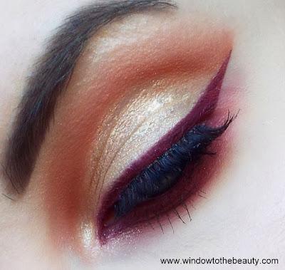 colourpop makijaż paletą whatever