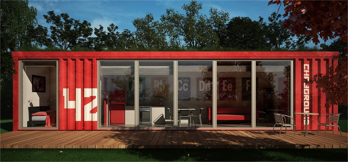 Are shipping container homes cost effective container home - Average cost of a container home ...