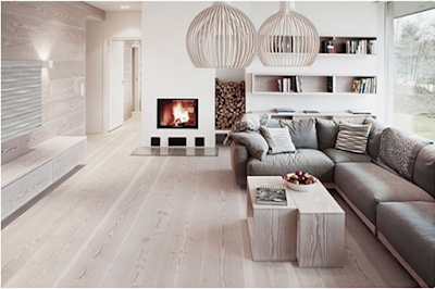Sàn gỗ tự nhiên gam màu sáng – nét tính tế mới
