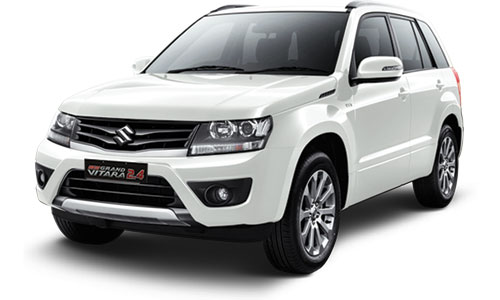 suzuki new grand vitara putih
