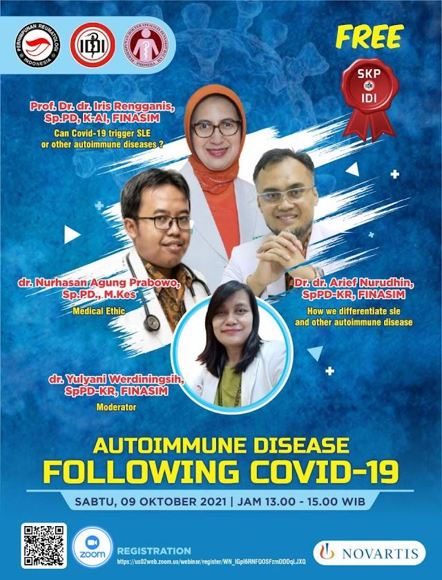 (FREE SKP IDI) Autoimmune Disease Following COVID-19
