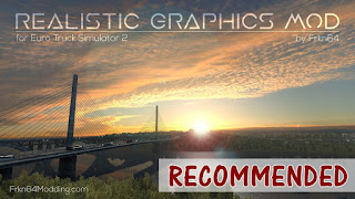 ets 2 realistic graphics mod v3.0 by frkn64