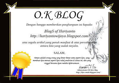 BlogS of Hariyanto