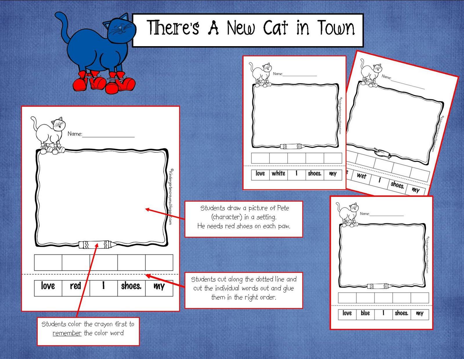 Kindergarten Crayons More From The New Cat In Town Meet Pete