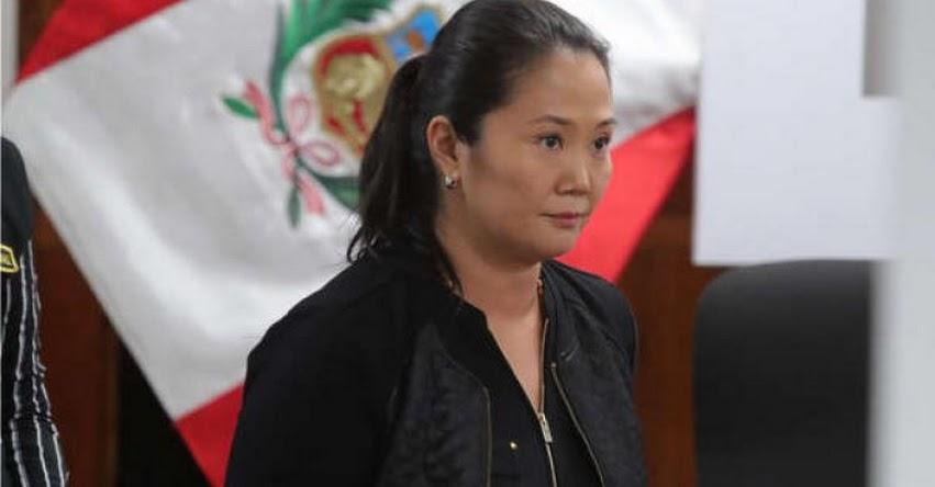 KEIKO FUJIMORI: Piden 36 meses de prisión preventiva para lideresa de Fuerza Popular