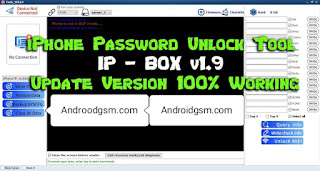 How To Download iPhone Password Unlock Tool IP- BOX v1.9 Unlock Latest Update 2020 Free Password To AndroidGSM