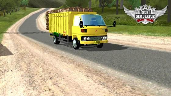 Mod Truck Tua Umplung Muat Kayu