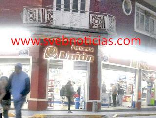 """Asaltan farmacia """"Unión"""" en Orizaba Veracruz"""