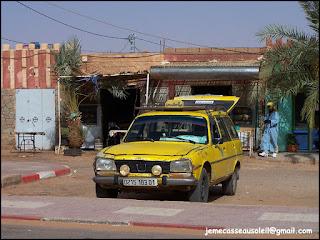Grand Taxi à Timimoun