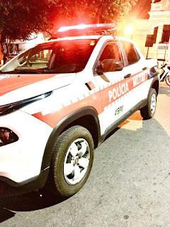 Policiais do 4º BPM cumprem mandado e prendem acusado de homicídio em Belém