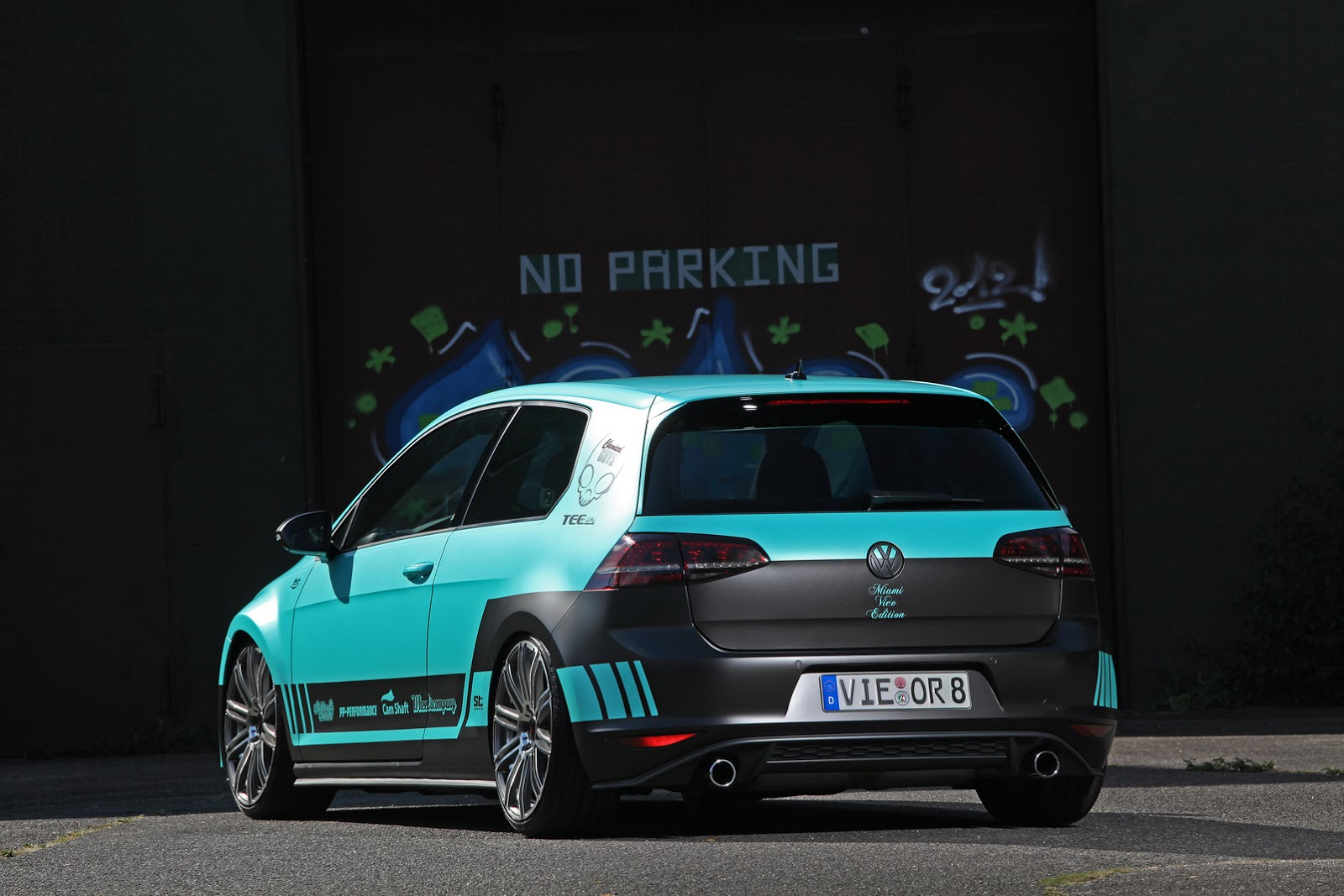 Would You Park This Vw Golf Gti Mk7 Under Your Garage