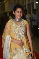 Nivetha Thamos in bright yellow dress at Ninnu Kori pre release function ~  Exclusive (22).JPG