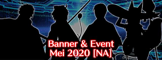 Banner Gacha dan Event Bulan Mei 2020 (FGO NA)