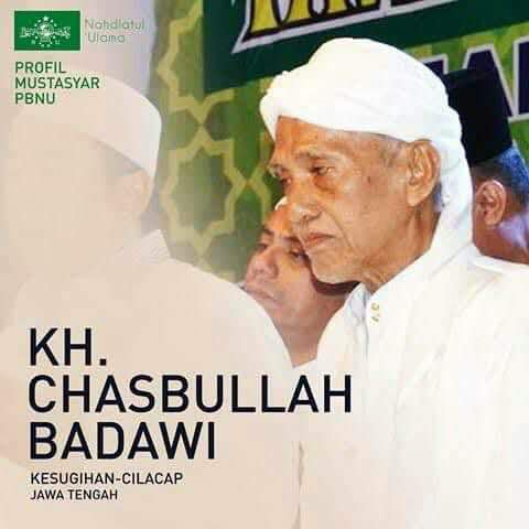 Innalillahi, Telah Berpulang ke Rahmatullah K.H. Chasbullah Badawi