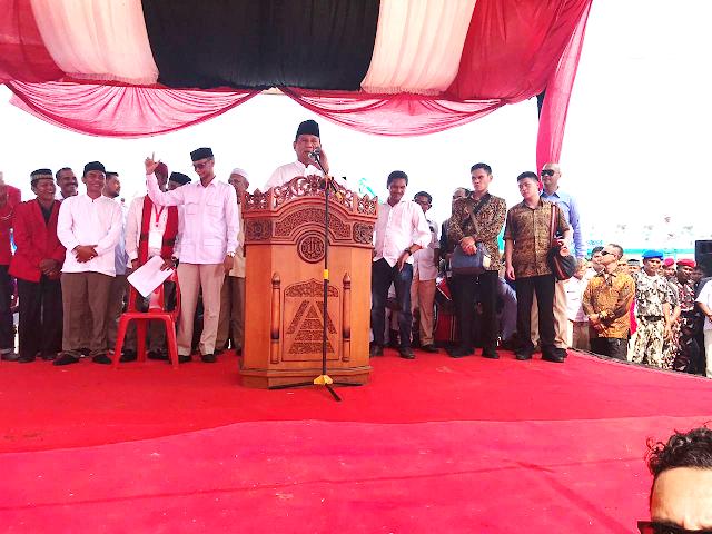 Prabowo: Saya Berharap Aceh Terus Menuju Kejayaan