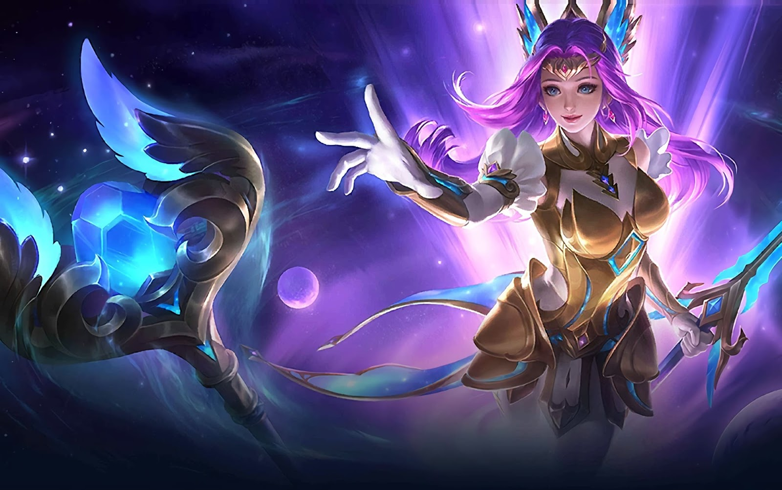 Wallpaper Odette Virgo Skin Mobile Legends HD for PC