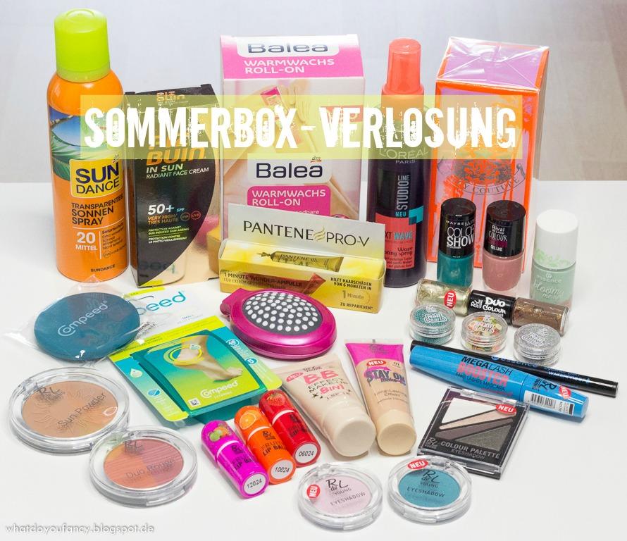 Gewinnerin der Sommerbeautybox 2014