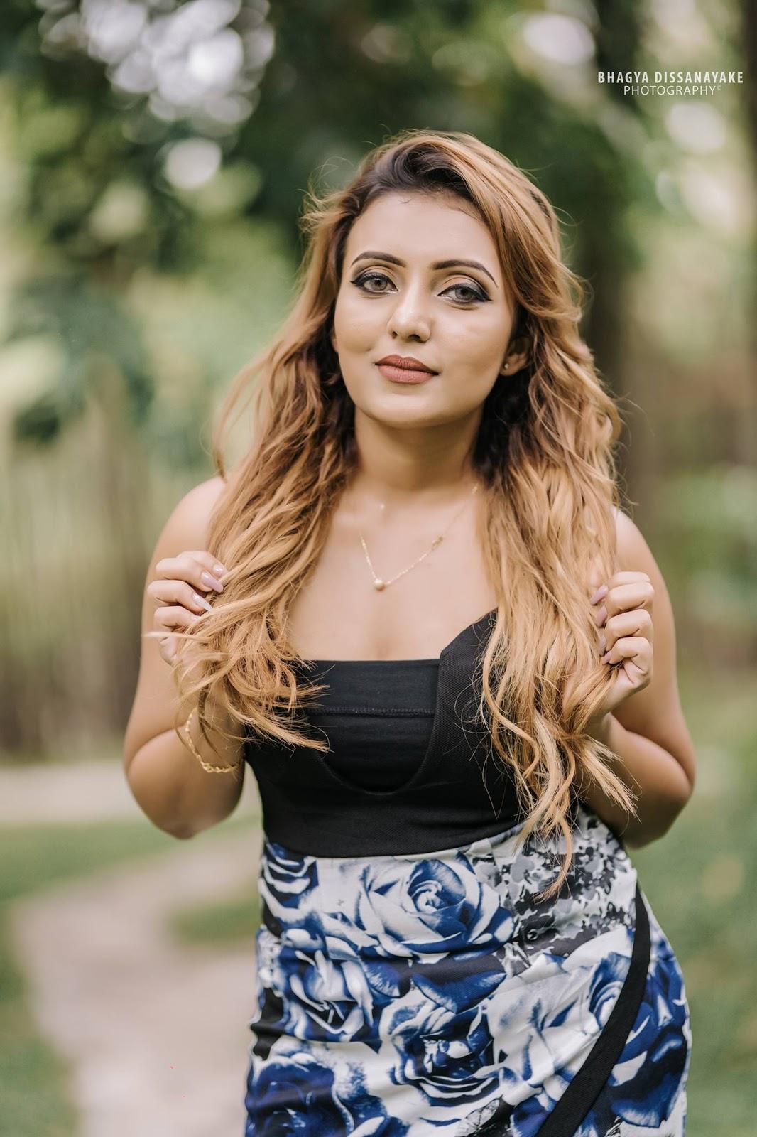 Upcoming model Fashion Shani Shenaya Wickremasinghe - Sri