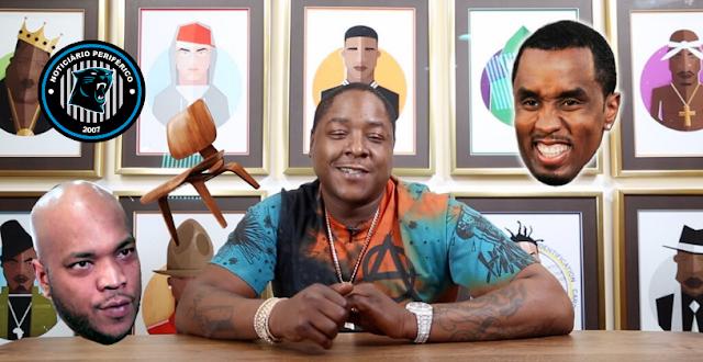 Saída do LOX da Bad Boy: Jadakiss diz que Styles P jogou cadeira em Diddy