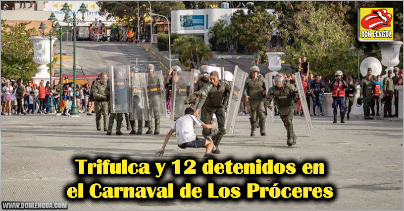 Trifulca y 12 detenidos en el Carnaval de Los Próceres