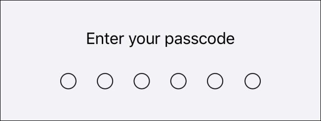 اكتب رمز المرور الخاص بك.