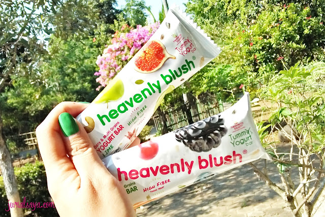 heavenly blush tumm yogurt bar, good for your tummy