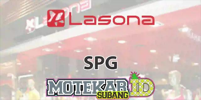 Info Loker SPG Lasona Bandung 2019