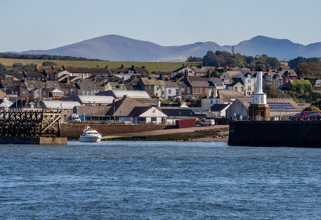 Photo of Maryport from the Solway Firth with Andromeda in the basin