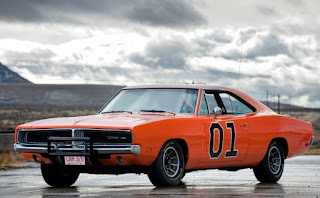 1969 Dodge Charger R/T General Lee Car Front