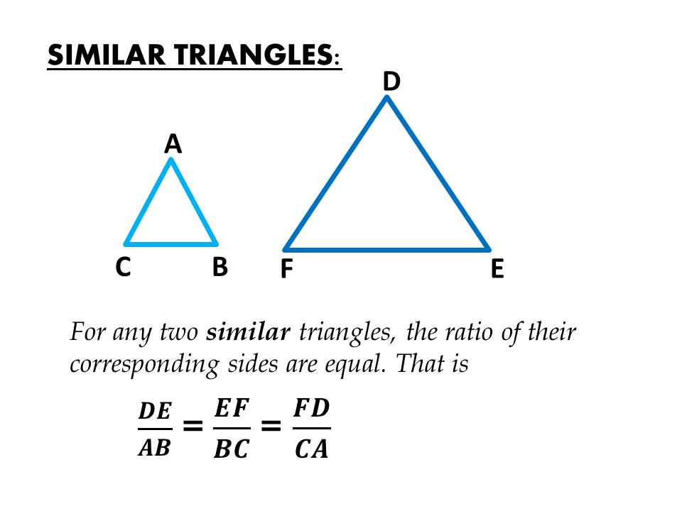 Similar Triangles and Bearings | IGCSE at Mathematics Realm