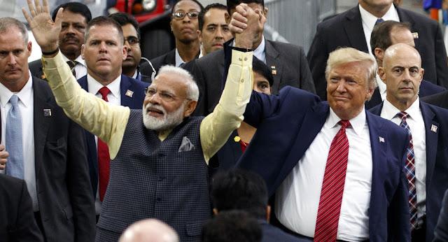 ترامب يستعد لافتتاح أكبر ملعب كريكت عالميا في بداية زيارته للهند