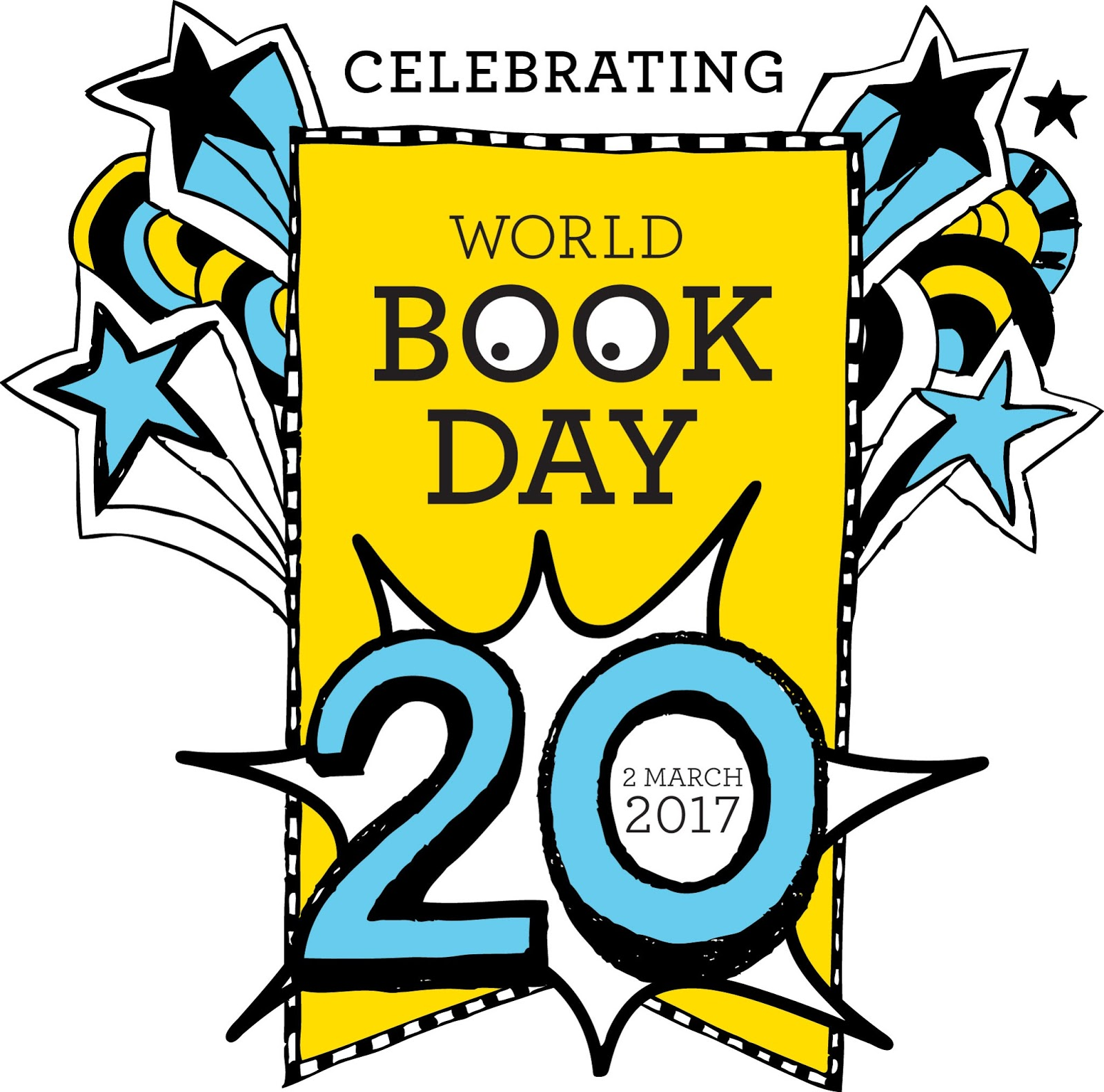 World Book Day 2017 logo - 2nd March
