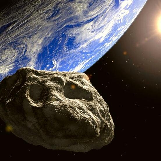 asteroid near earth - 553×553