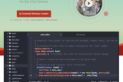 Free download ATOM text editor