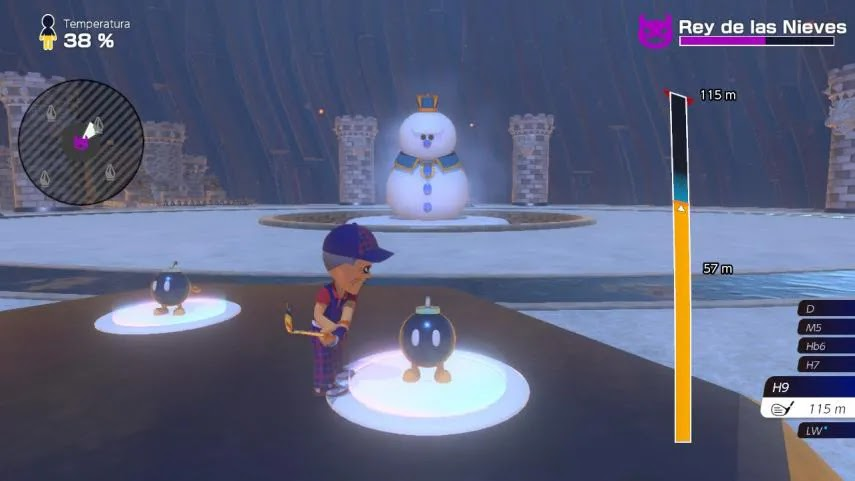 Mario Golf Super Rush: how to defeat the Snow King