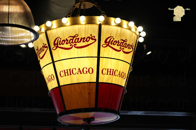 Giordano's Chicago Pizza Chandelier
