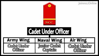 Cadet Under Officer Rank