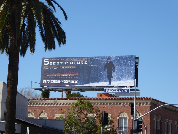 Bridge of Spies 2016 awards billboard
