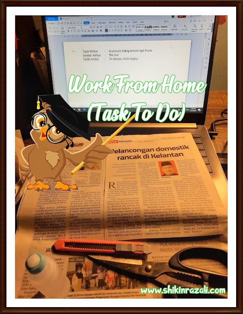 Work from home | Ada 'task' yang perlu disiapkan