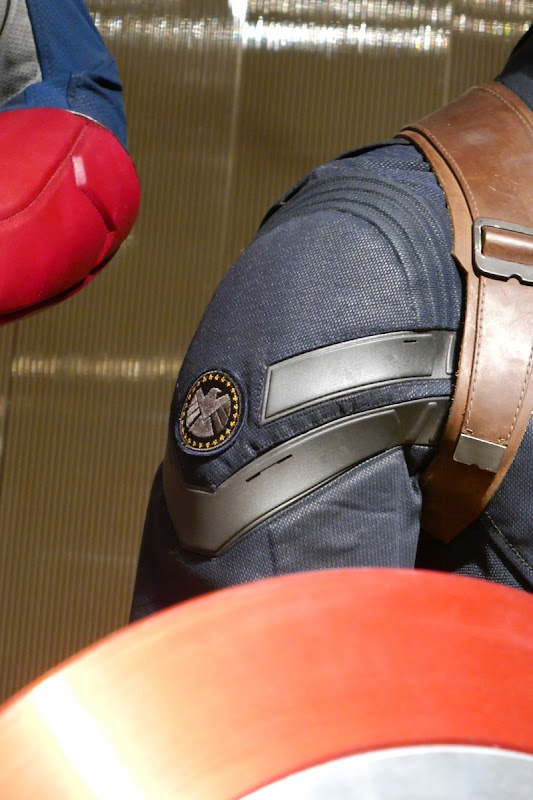 Captain America Winter Soldier SHIELD logo costume detail