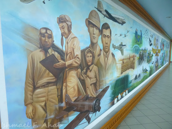 Mural in PAF Aerospace Museum