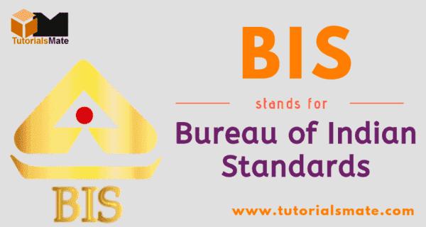 BIS Full Form