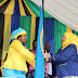MAKAMU WA RAIS,SAMIA AMRITHI MAMA SALMA KIKWETE ULEZI WA TANZANIA GIRL GUIDES