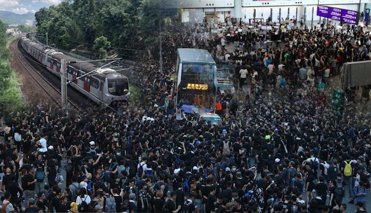 Hong Kong bersiap Hadapi Kekacauan Transportasi Hingga pembatalan penerbangan besar-besaran ketika pemogokan seluruh Hong Kong untuk menentang RUU Ekstradisi dengan Target  MTR, bandara dan Jalan Raya