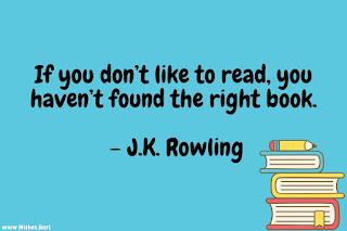 jk rowling quotes about reading