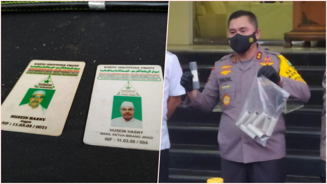 Bekuk Terduga Teroris Condet, Kartu Anggota FPI Bidang Jihad Disita Polisi