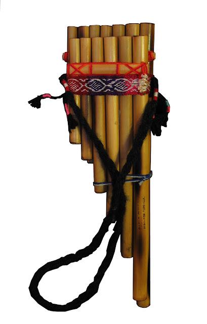 flauta andina ou flauta de pã