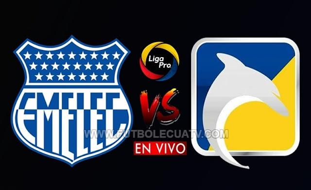 Emelec y Delfín cierran el telón del sábado, con un partido en vivo por la jornada 3 de la Liga Pro, siendo transmitido por GolTV Ecuador desde las 20h00, a jugarse en el campo Banco del Pacífico Capwell. Con arbitraje principal de Luis Quiroz.