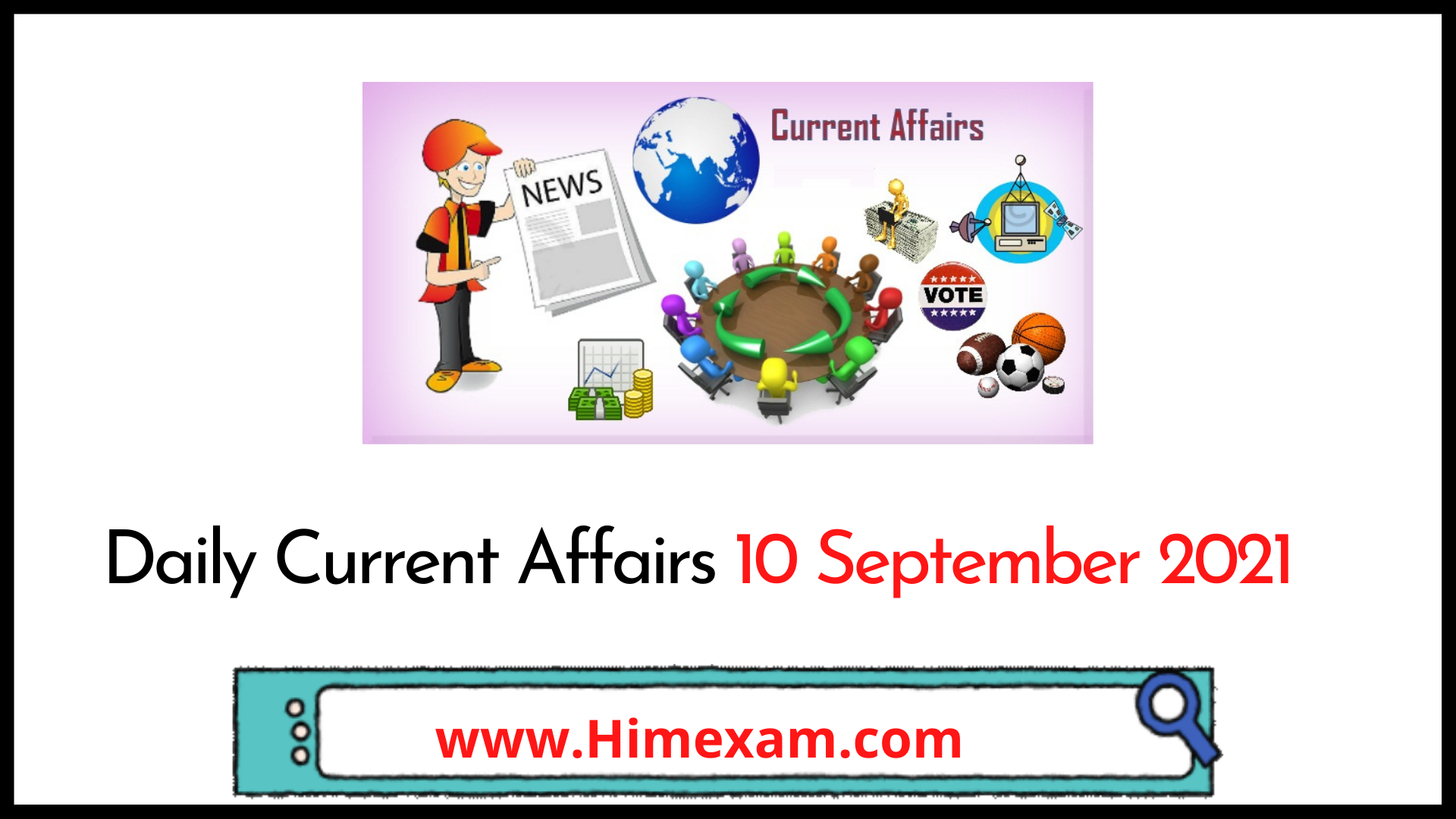 Daily Current Affairs 10 September 2021